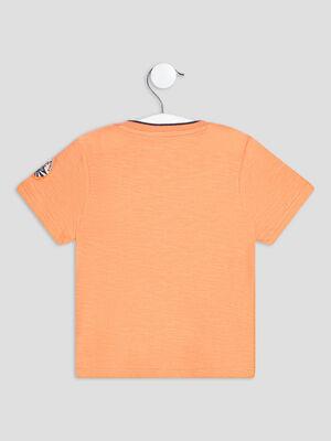 T shirt manches courtes Creeks orange bebeg