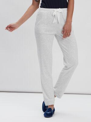 Pantalon de pyjama Liberto gris clair femme