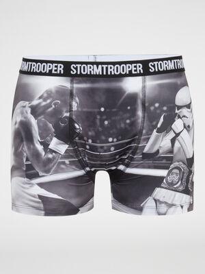 Calecon imprime Stormtrooper noir homme