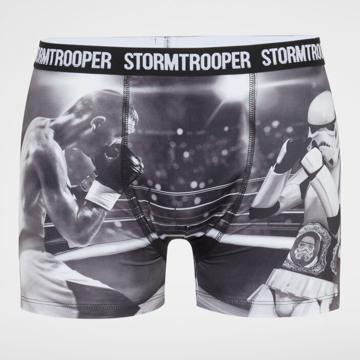 Caleçon imprimé Stormtrooper homme noir