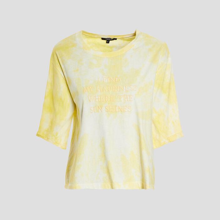 T-shirt Liberto femme jaune
