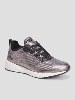 Runnings Skechers couleur argent femme