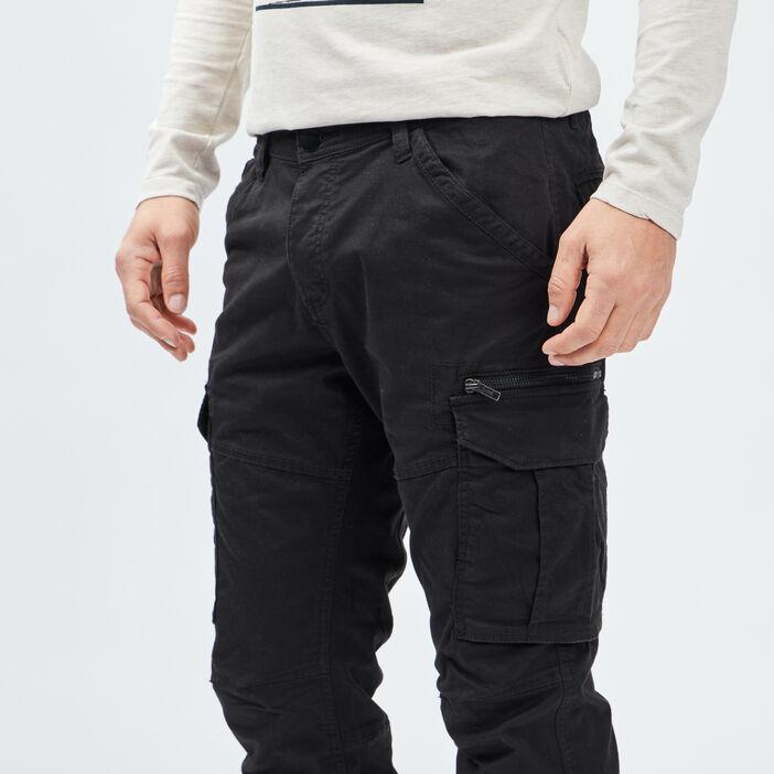 Pantalon regular Liberto homme noir