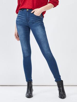 Jeans skinny denim stone femme