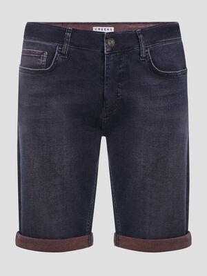 Short droit en jean Creeks bleu homme