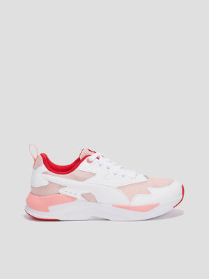 BASKETSTENNIS BASSES rose femme