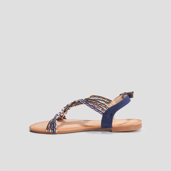 Sandales avec bijoux Liberto femme bleu