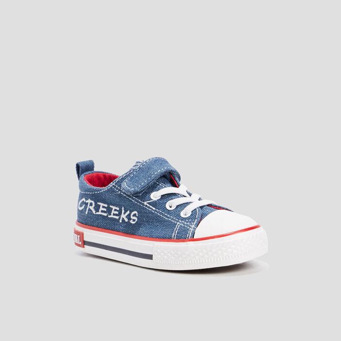 Tennis Creeks en jean garçon bleu