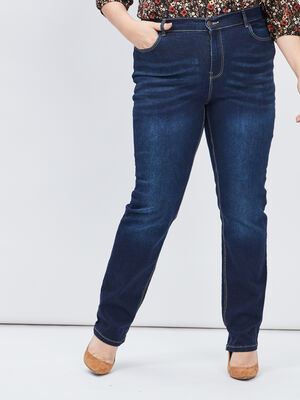 Jeans regular grande taille denim brut femmegt