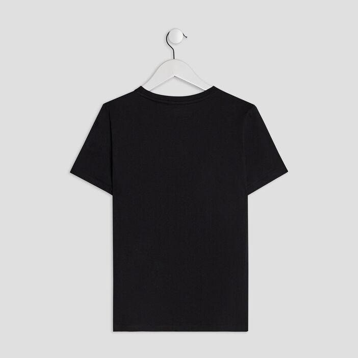 T-shirt manches courtes Naruto garçon noir