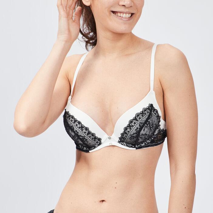 Soutien-gorge maxi push-up femme blanc