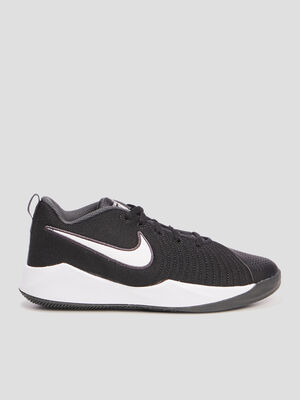 Baskets Nike TEAM HUSTLE QUICK noir garcon