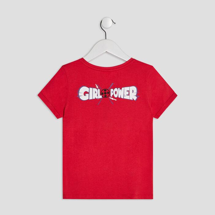 T-shirt Miraculous Ladybug fille rouge