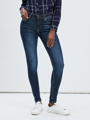Jeans skinny delave Creeks denim brut femme
