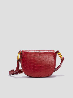 Sac a bandouliere rouge femme