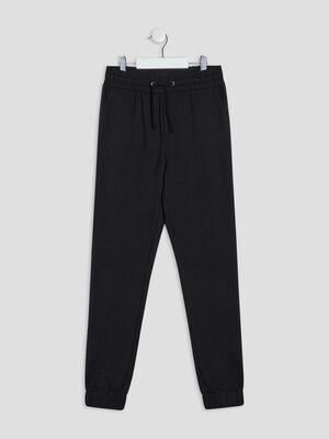 Pantalon jogging noir fille