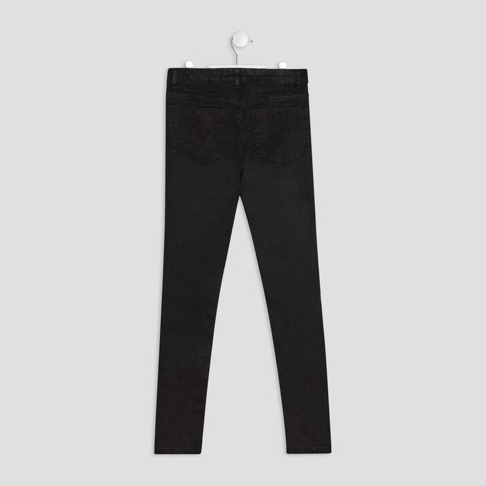 Jeans skinny fille noir