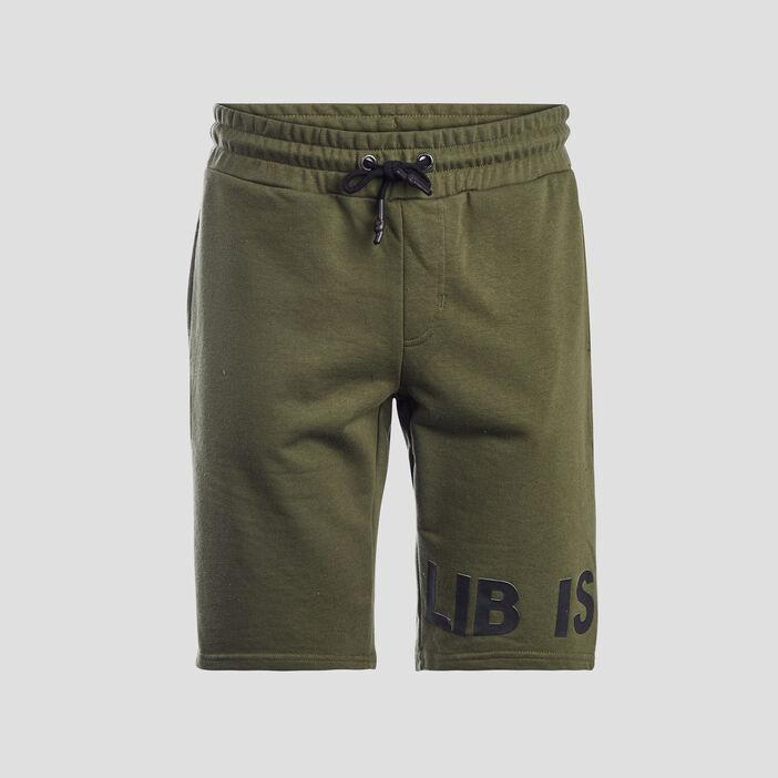 Bermuda droite Liberto homme vert kaki