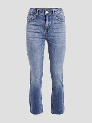 Jeans straight 78eme denim double stone femme