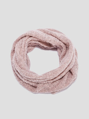 Snood rose fille