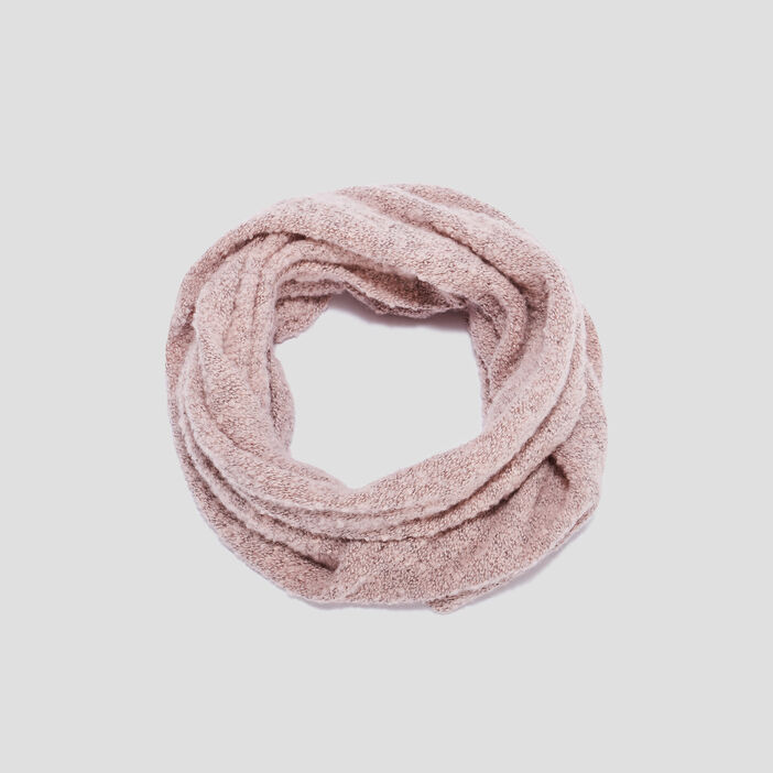 Snood fille rose