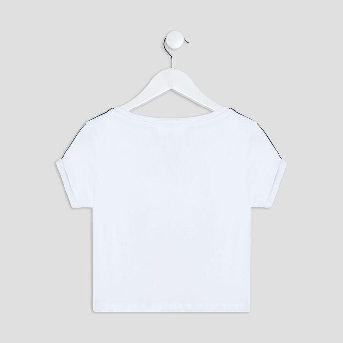 T-shirt Miraculous Ladybug fille blanc