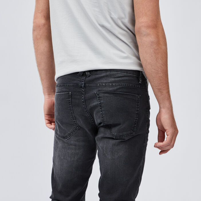 Jeans slim homme noir