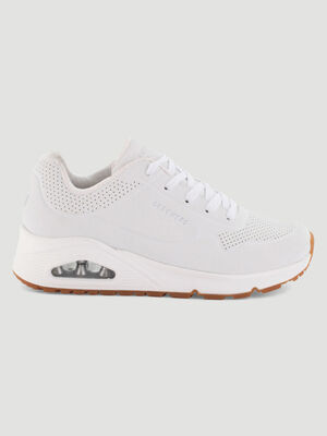 Runnings Skechers UNO STAND ON AIR blanc femme