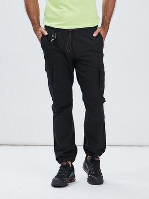 Pantalon jogging battle noir homme