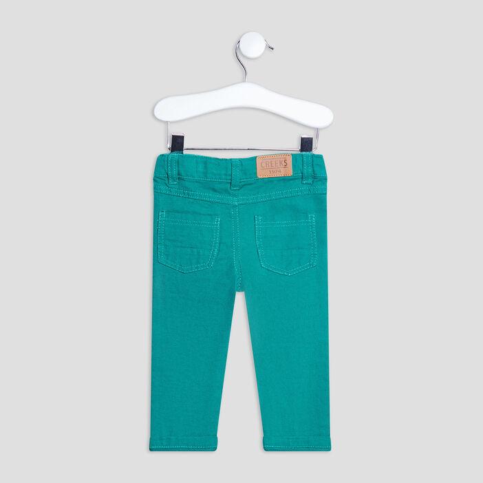 Pantalon droit Creeks bébé garçon vert