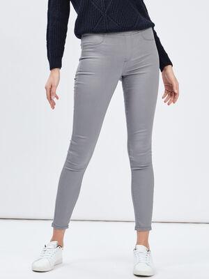 Pantalon gris femme