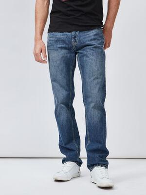 Jeans regular denim double stone homme