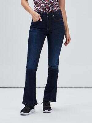 Jeans bootcut Creeks denim brut femme