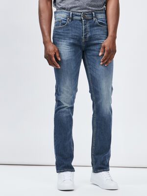 Jeans regular denim double stone homme