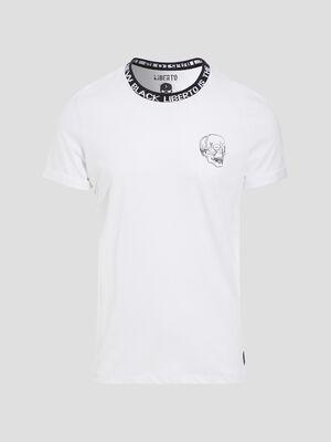 T shirt Liberto blanc homme