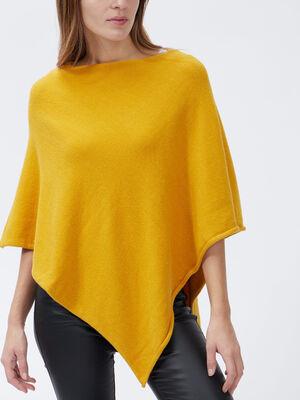 Echarpe jaune moutarde femme
