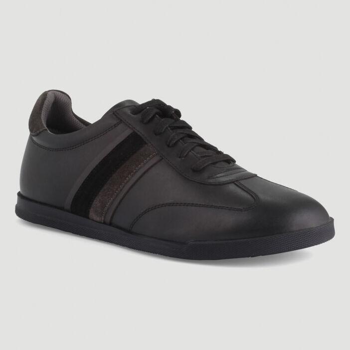Sneakers à lacets Liberto homme noir