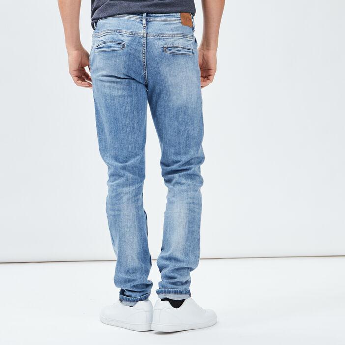 Jeans slim Creeks homme denim bleach