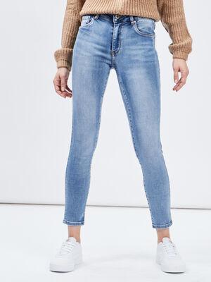 Jeans slim 78eme Creeks denim stone femme