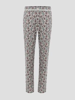Bas de pyjama multicolore femme