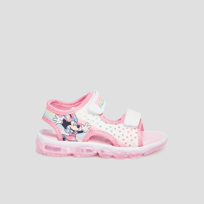 Sandales Minnie fille rose