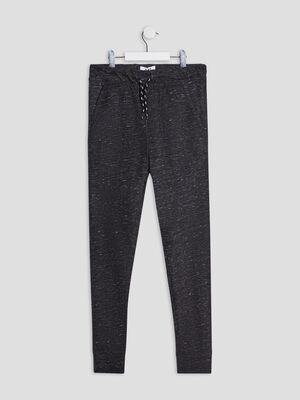 Pantalon jogging gris fonce garcon
