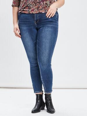 Jeans slim grande taille denim stone femmegt