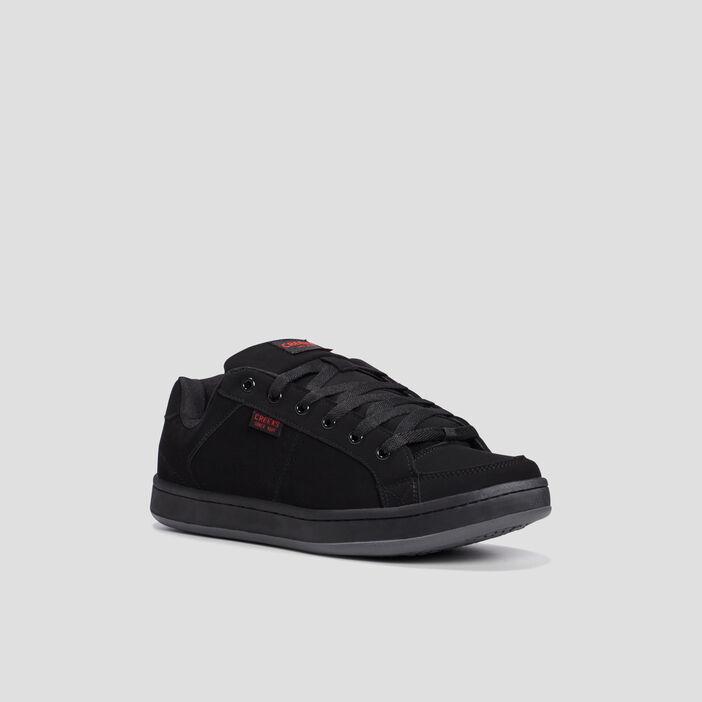 Chaussures de skate unies homme noir