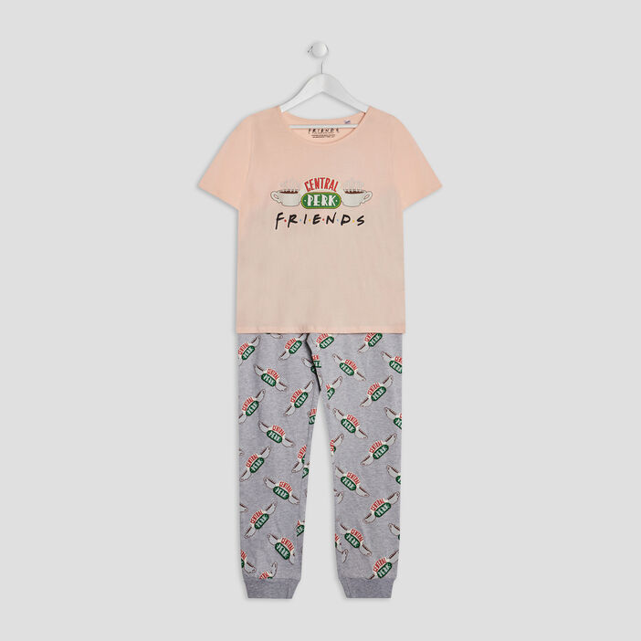 Ensemble pyjama Friends fille rose