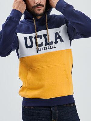 Sweat a capuche UCLA violet homme