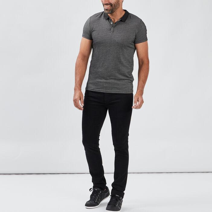 Jeans skinny stretch homme noir