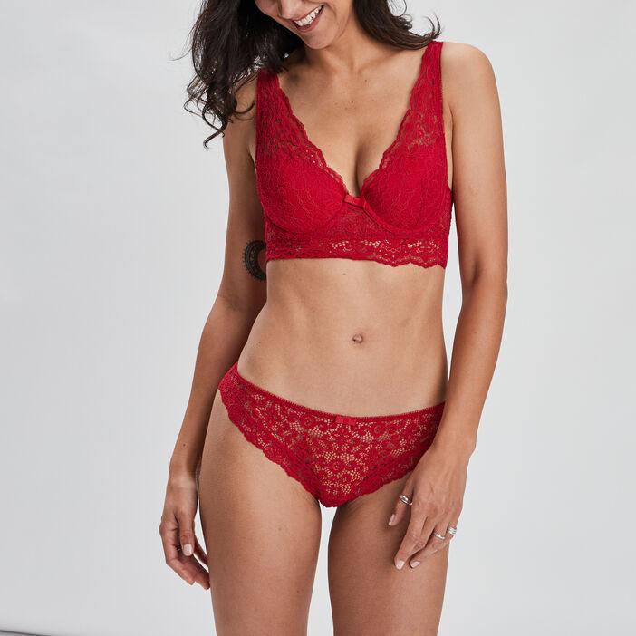 Culotte femme rouge
