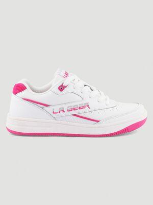 Tennis LA Gear LIONNE blanc femme