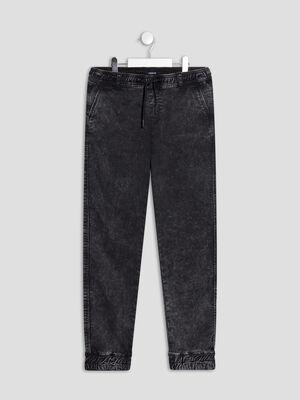 Pantalon slim stretch Liberto noir garcon